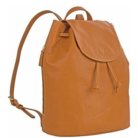 Hidesign Leah Leather Backpack Tan