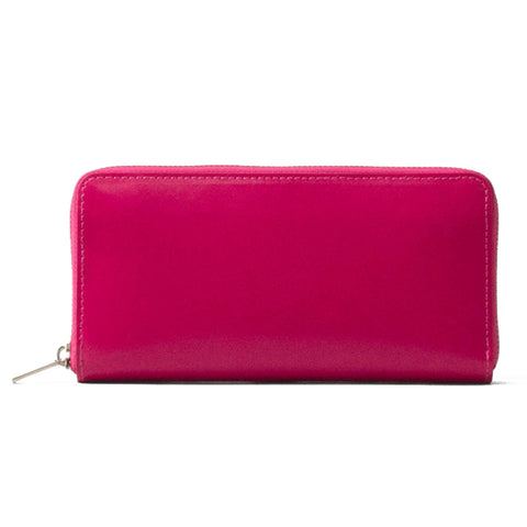 Paperthinks Leather Long Zip Wallet Rubine Red