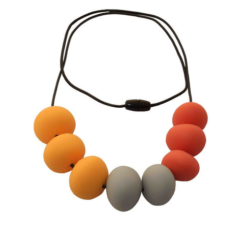 NIBBLY BITS Silicone Abacus Necklace