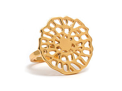 GORJANA Gold Plated Acacia Ring