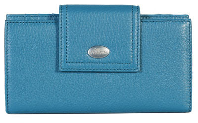 ALLORA Adele Large Wallet Blue