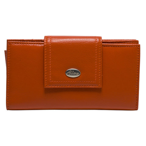 ALLORA Adele Large Wallet Orange