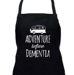 ANNABEL TRENDS Adventure Before Dementia Apron Black