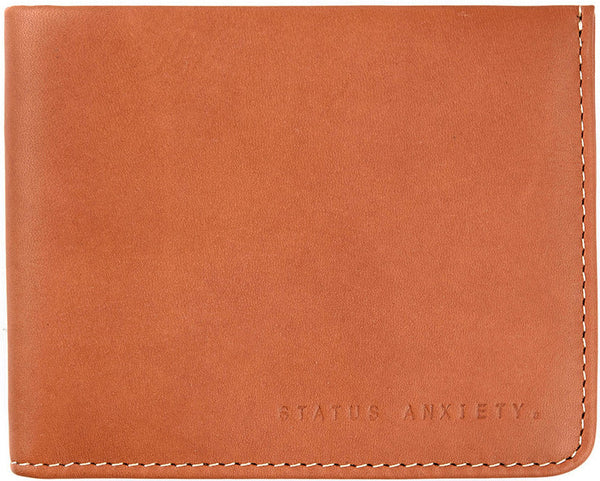 STATUS ANXIETY Alfred Leather Wallet Camel