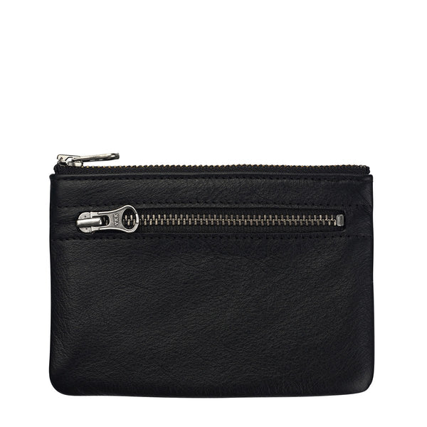STATUS ANXIETY ANARCHY LEATHER WALLET BLACK