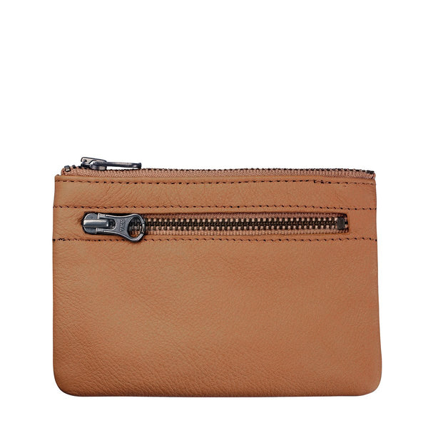 STATUS ANXIETY ANARCHY LEATHER WALLET TAN BROWN