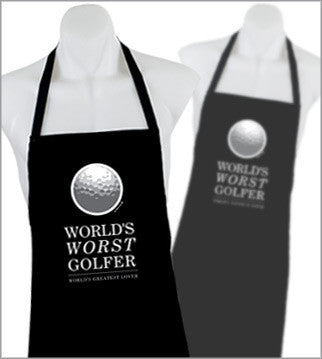 World's Worst Golfer Apron SALE