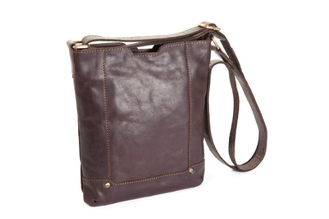 "ORAN LEATHER ""Lapis"" Shoulder Bag - SALE - BLACK"