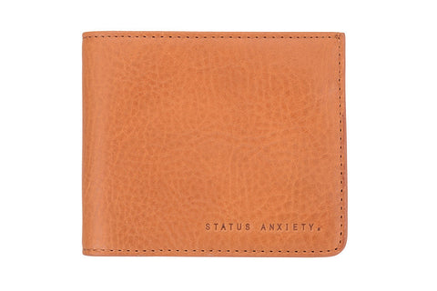STATUS ANXIETY Amos Leather Wallet Tan