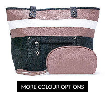 ANNABEL TRENDS Handbag Set with Matching Clutch Purse SALE