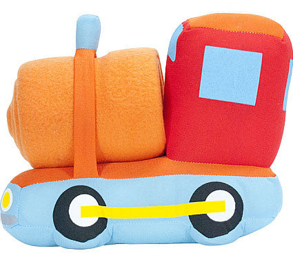Baby Blanket Rugmobile - Train