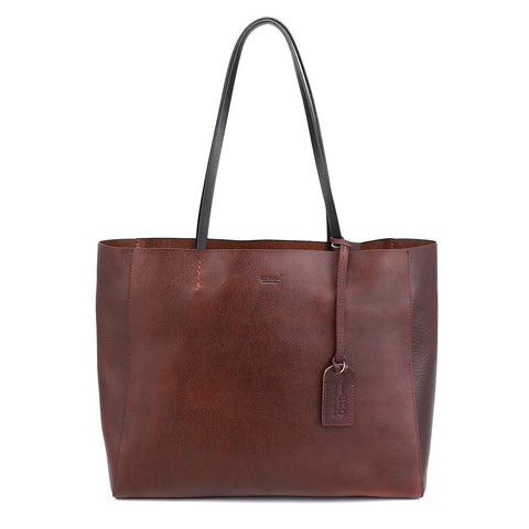 Old Trend Leather Out West Tote Bag