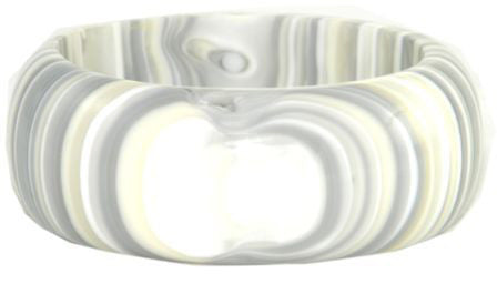 SOBRAL by Jackie Brazil Spring Cream Mix Bangle
