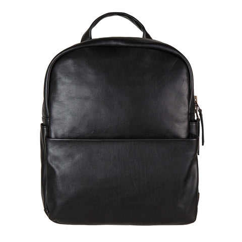 STATUS ANXIETY People Like Us Leather Backpack Black FREE WALLET