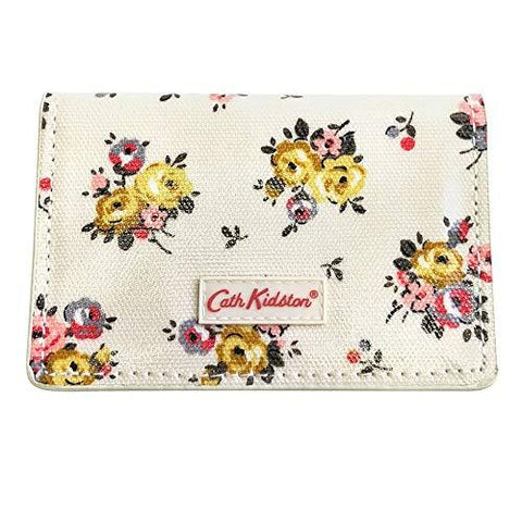 Cath Kidston Womens Business Card Holder One card slot Victoria Rose Ivory 512640