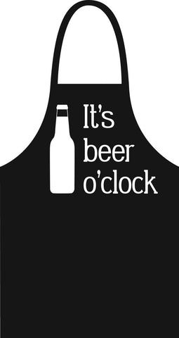 It's Beer O'Clock Apron