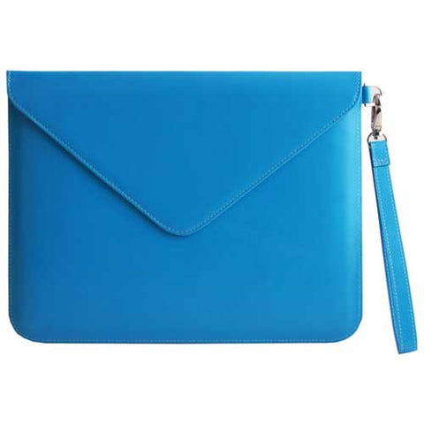 Paperthinks Recycled Leather Tablet Folio Blue Mist