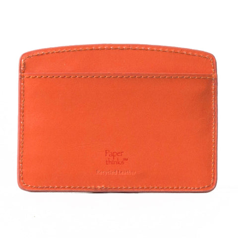Paperthinks Europe Card Case Tangerine Orange