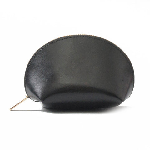 Paperthinks Leather Coin Pouch Black