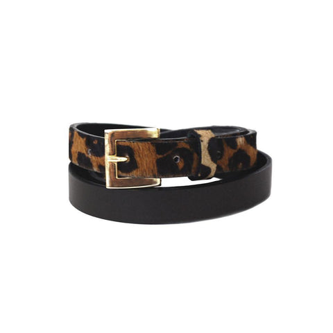 Claudia G Sophia Leather Belt Brown