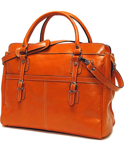FLOTO Casiana Mini Leather Bag Orange