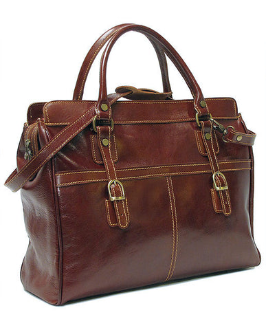 FLOTO Casiana Mini Leather Bag Vecchio Brown