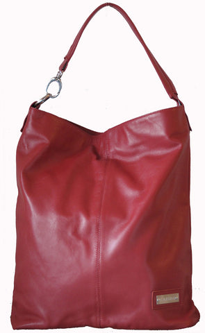 "CARSHA ""Chicago"" Soft Leather Slouchy Bag"