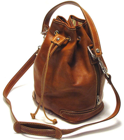 FLOTO Ciabatta Satchel Brown