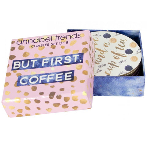 Coffee & Tea Coaster Set