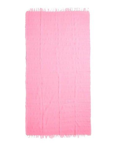 Miz Casa & Co Copacabana Turkish Towel Watermelon Pink
