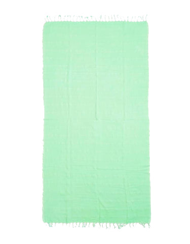 Miz Casa & Co Copacabana Turkish Towel Green