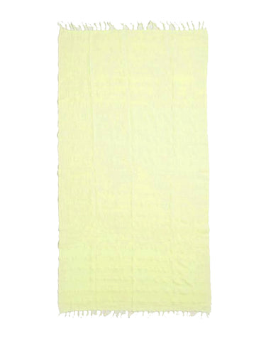 Miz Casa & Co Copacabana Turkish Towel Lemon Yellow