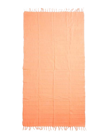 Miz Casa & Co Copacabana Turkish Towel Tangerine Orange