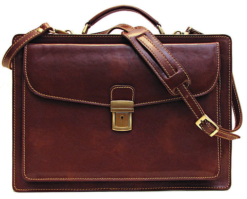 FLOTO Corsica Leather Briefcase