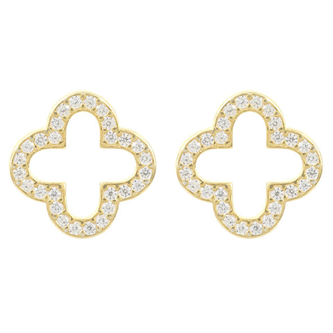 Latelita London Open Clover Earring