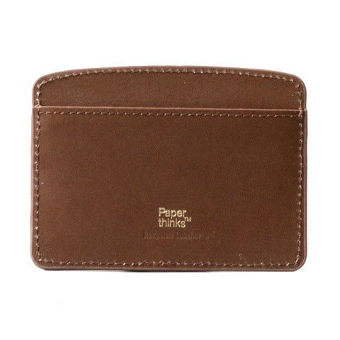 Paperthinks Card Case Tan Brown
