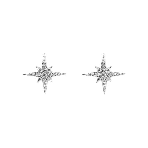 Fronay Collection Mini Starburst Stud Earrings