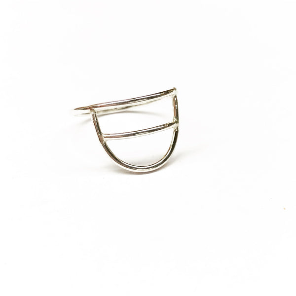 Agapantha Jewelry Katrina Warrior Ring