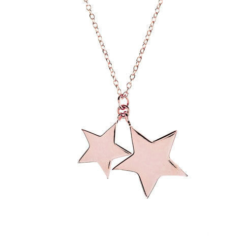 Latelita London Double Star Necklace
