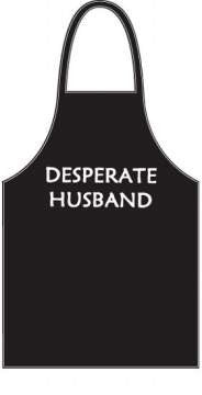 Desperate Husband Apron