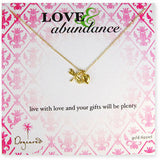 DOGEARED Love & Abundance Necklace Gold
