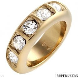 DRYBERG/KERN Oriona Gold Crystal Ring