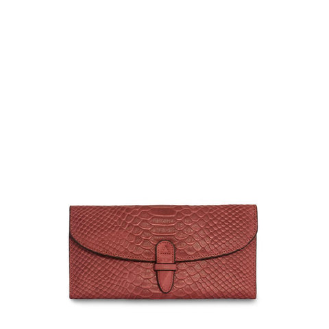 ClaudiaG Collection Wealthy Leather Wallet Red