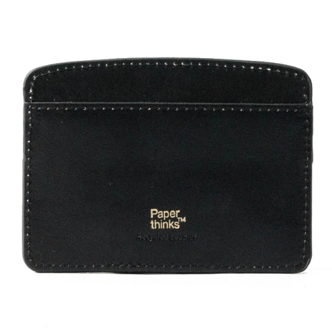 Paperthinks Leather Card Case Black