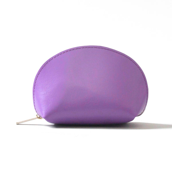 Paperthinks Recycled Leather Coin Pouch Purple
