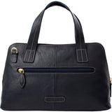 Hidesign Cerys Leather Satchel Black