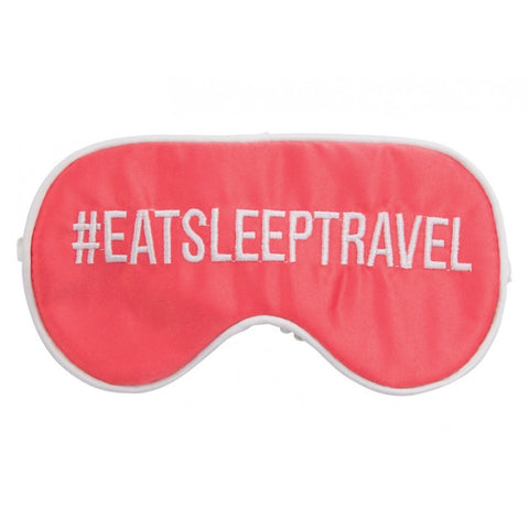 # Eat Sleep Travel Eye Mask