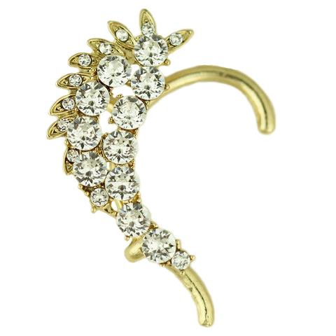 Kristin Perry Crusted Crystal Ear Cuff