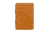 STATUS ANXIETY Magic Flip Leather Wallet Tan