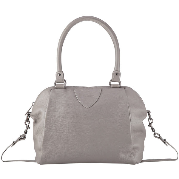STATUS ANXIETY Force of Being Leather Bag Light Grey FREE WALLET
